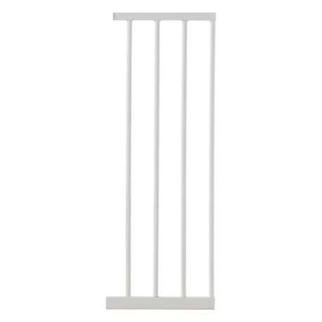 Lindam Sure Shut Axis & Orto Metal Gate 28cm Extension White
