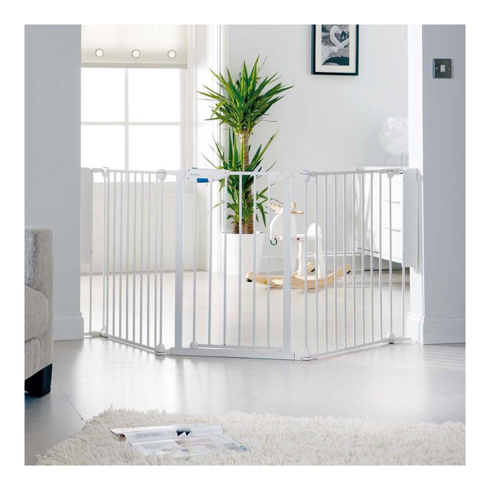 Lindam 3 Panel Safety Gate Babygates Com Au The Baby Gate Experts