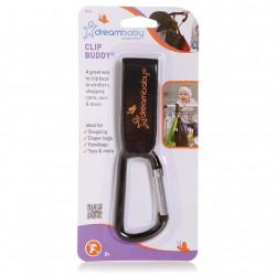 Dreambaby Clip Buddy Carabiner Pram Clip 1 Pack