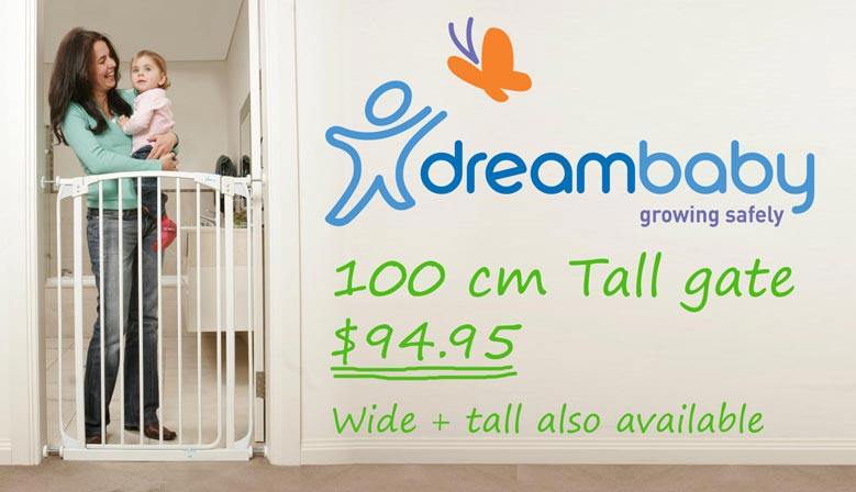 Dreambaby Tall Baby Gate
